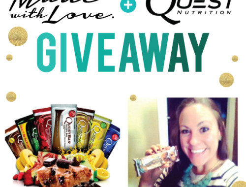 Quest Bar Giveaway