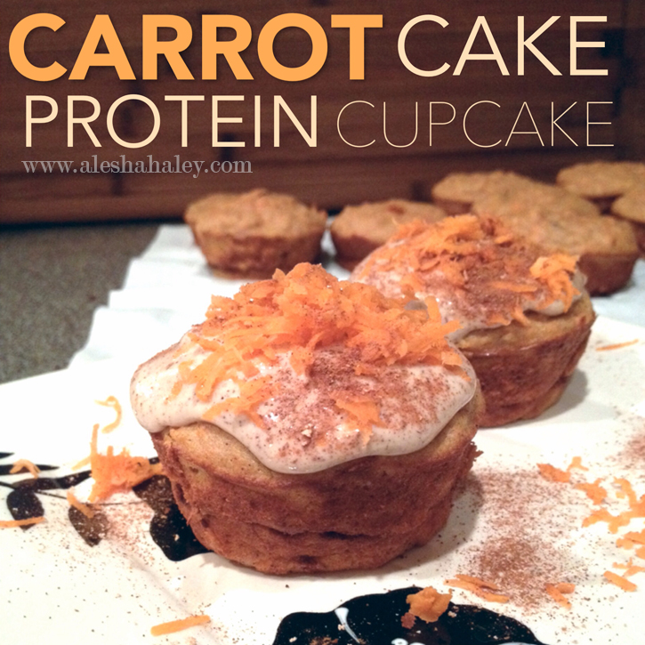 Carrot Cake Protein Cupcakes // Made with Love #eatclean #recipes