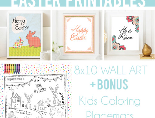 FREE Printables  -Easter Wall Art