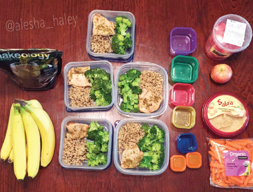 Meal Prep // 21 day fix