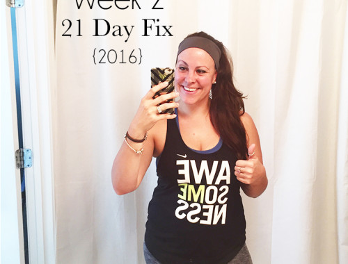 21 day fix Recap - alesha haley #21dayfix